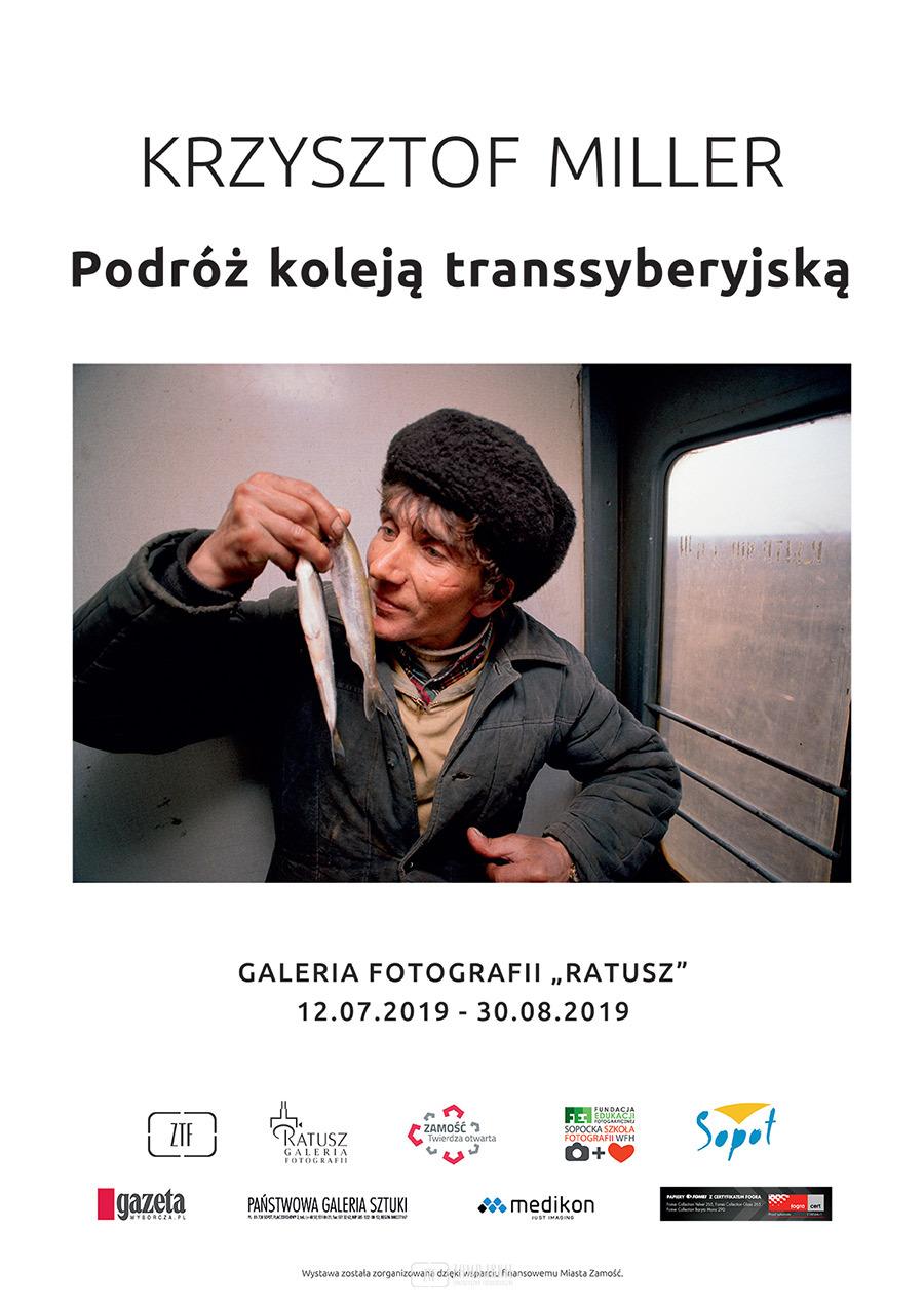 Podróż koleją transsyberyjską wystawa Krzysztof Millera
